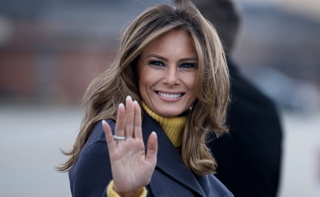 First Lady Melania Trump Says Violence Will Never Be Justified In Her  Farewell Message