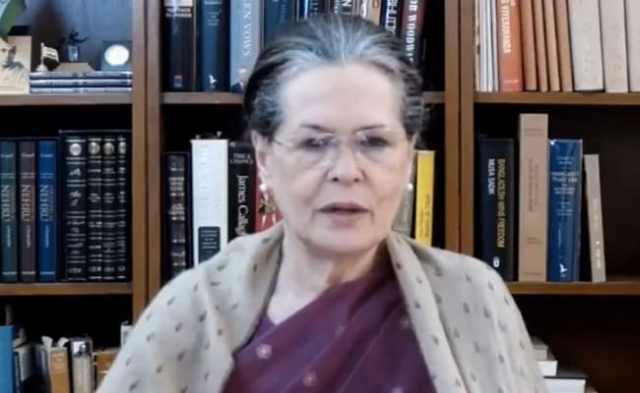 Sonia Gandhi To Meet Top Congress Leaders Today To Set Course On Farmers' Protest