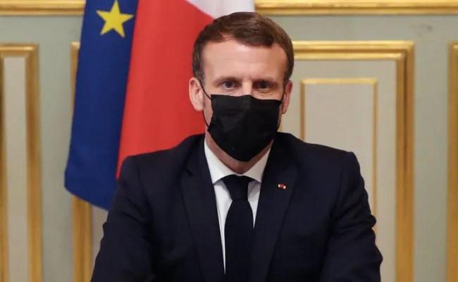 France's Macron Calls National Security Meet To Discuss Pegasus Scandal