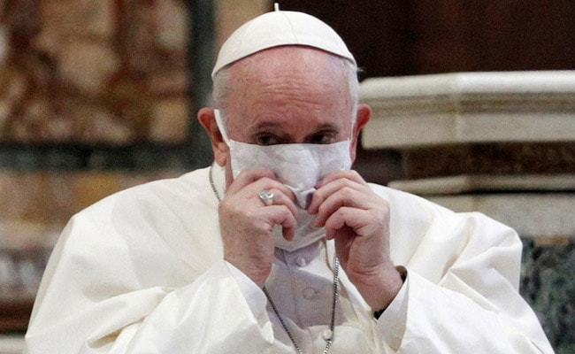 Pope Hails 'Tireless' Work Of Indian Medics, Urges Them To Stay Strong