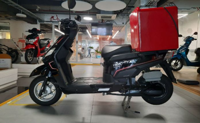 The Hero Electric Nyx-HX e-scooter series starts from Rs. 64,640 after FAME II subsidy in Delhi