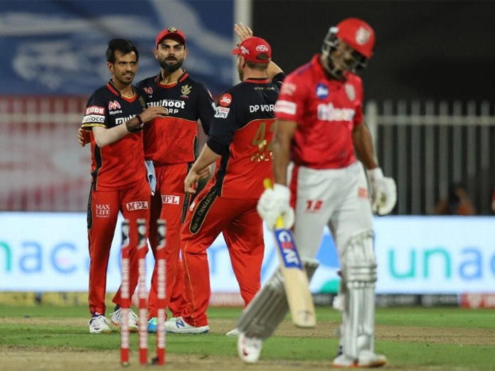 RCB vs KXIP IPL 2020 Match Live Updates: Yuzvendra Chahal Cleans Up Mayank Agarwal To End Rampant Kings XI Punjab Opening Stand