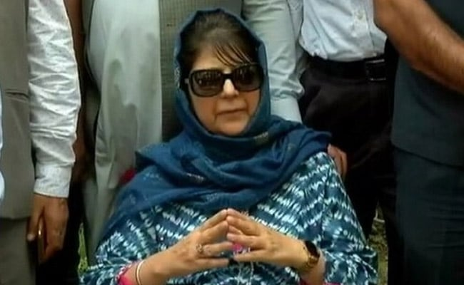 'Hurt Sentiments': 3 Leaders Quit Mehbooba Mufti's Party Over Her Remarks