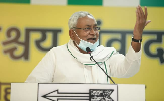 Nitish Kumar Mocks 'Inexperienced'' Rival Leadership In Virtual Poll Rally
