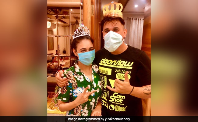 'Diagnosed With Dengue,' This Is How Prince Narula And Yuvika Chaudhary Celebrated Anniversary