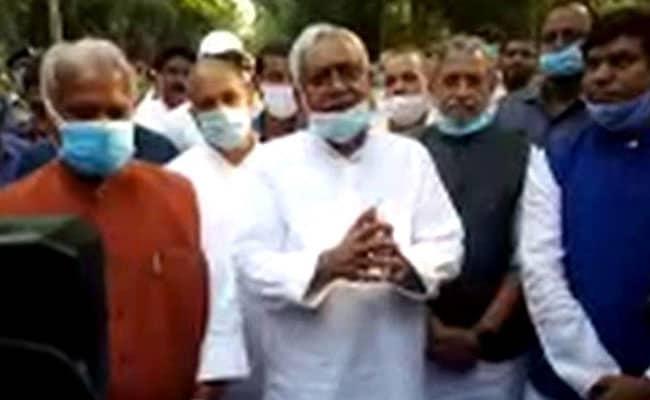 Ahead Of New Bihar Government Formation, Nitish Kumar Tenders Resignation