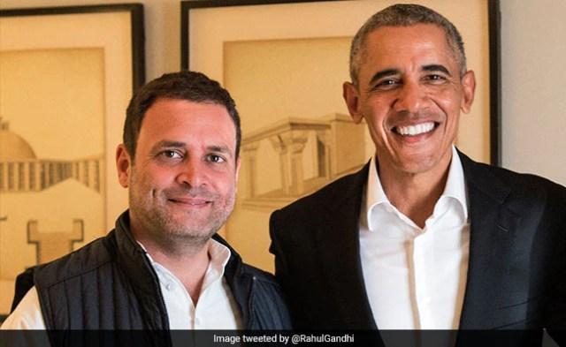 पूर्व अमेरिकी राष्ट्रपति बराक ओबामा ने अपनी किताब में राहुल गांधी और पूर्व प्रधानमंत्री मनमोहन सिंह का किया जिक्र