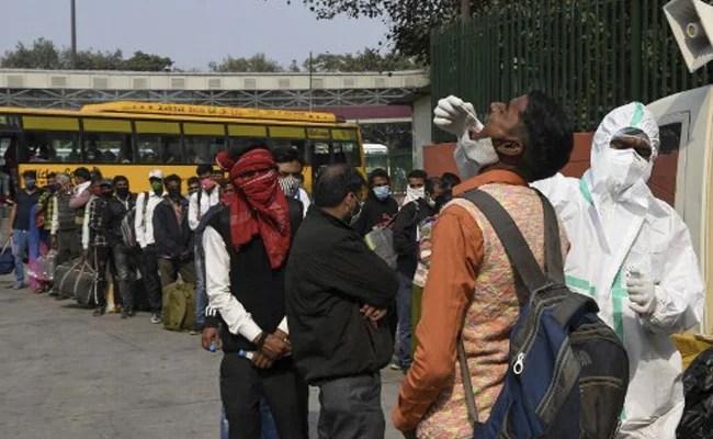 Delhi Logs 7,897 Covid Cases, Positivity Rate Over 10 Per Cent