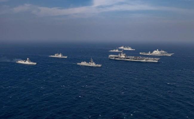 'Extraordinary Degree Of Intra-Operability': Navy On Malabar Exercise
