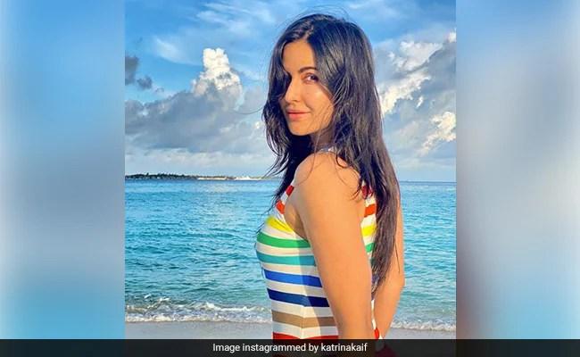 The Blues Of Maldives Have Got Nothing On The Happy Shades Of Katrina Kaif