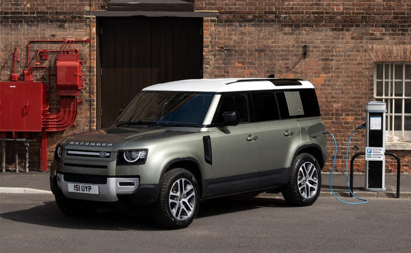 The hydrogen fuel-cell prototype model will be based on the new Land Rover Defender vehicle
