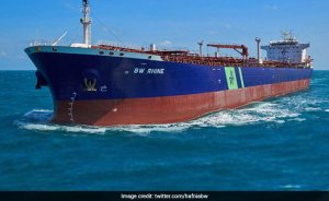Explosion rocks tankers flying the Singapore flag in front of the Saudi port