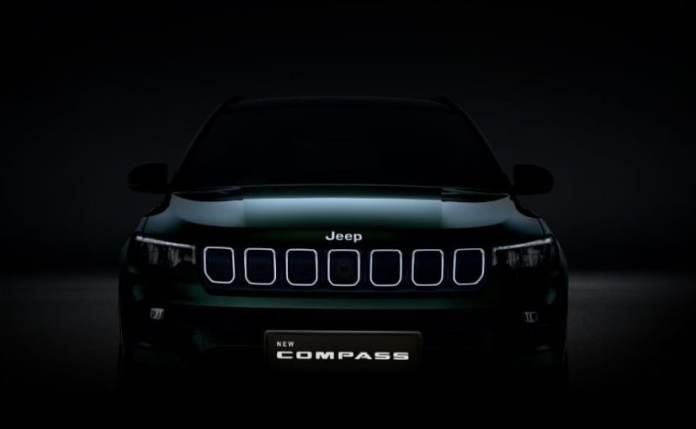 lt7ruvc 2021 jeep compass २०२१ जीप कम्पास फेसलिफ्ट आधिकारिक तौर पर भारत की शुरुआत से आगे निकल गई