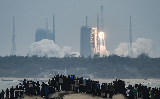 China's New Carrier Rocket, Long March-8 Rocket, Makes First Flight