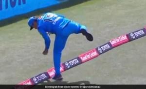 BBL 2020 H.H.  V.S.  Rashid Khan catches a huge catch at Colin Ingram's boundary, watch viral video – BBL 2020: Rashid Khan makes a surprise catch at the boundary, bouncing such a ball
