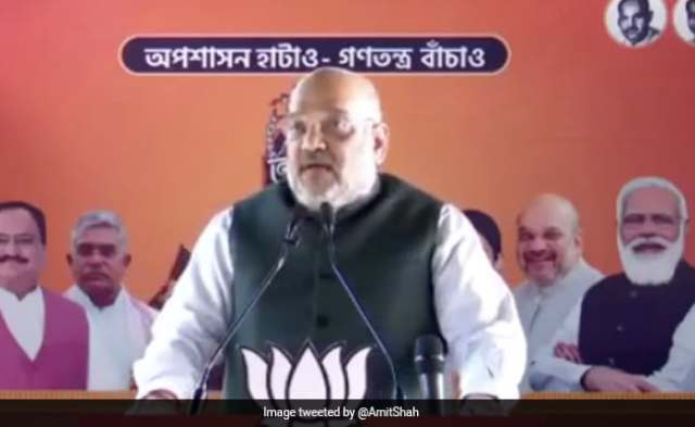 India Tackled Covid Effectively Under Leadership Of PM Modi: Amit Shah