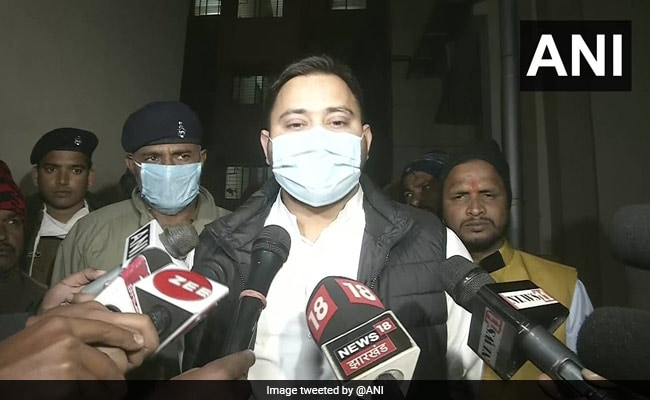 Tejashwi Yadav Slams Nitish Kumar After Doctor Says 'Want To Quit As...'