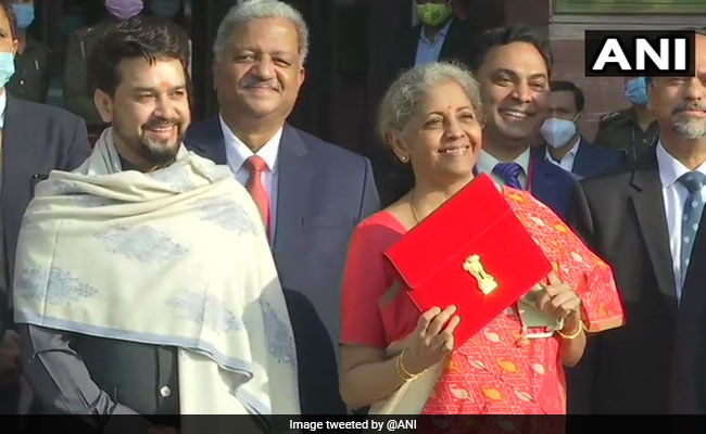Tablet For Nirmala Sitharaman's Speech As Budget 2021 Goes Paperless