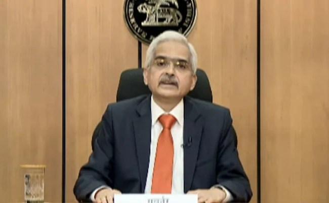 RBI Governor Shaktikanta Das Set To Make Monetary Policy Statement