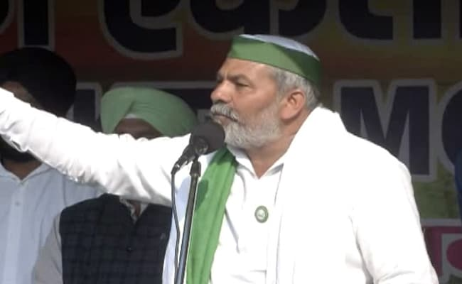 '40 Lakh Tractors...': Farmers' Leader Rakesh Tikait Warns Of March To Parliament