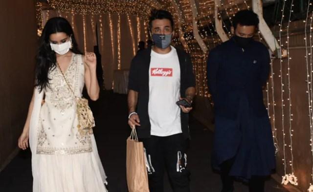 ICYMI: Shraddha Kapoor Left Priyaank Sharma's Wedding Party With Rumoured Boyfriend Rohan Shreshtha