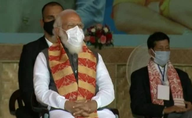 "Image result for PM During Launch Of Key Assam Projects: ""India Won't Let Conspiracies Win"""