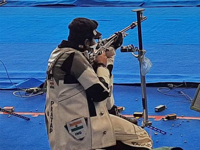 ISSF World Cup: Sunidhi Chauhan, Aishwary Pratap Singh Tomar Win Bronze In 50m Rifle 3 Positions Mixed Team Event