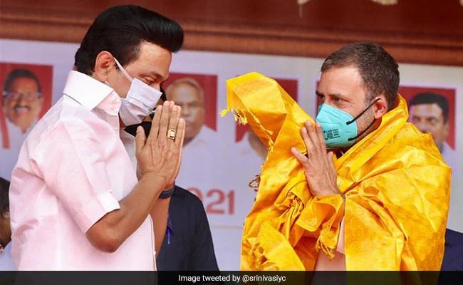 'Tamil Nadu Has Voted For Change': Rahul Gandhi Congratulates MK Stalin