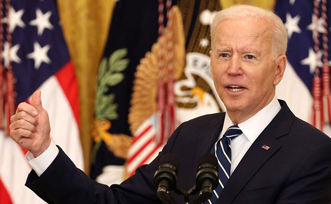 "Immediately Sending ""Whole Series Of Help"" To India Amid Covid: Joe Biden"
