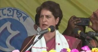 Work On Strengthening Organization: Priyanka Gandhi To UP Congress Workers