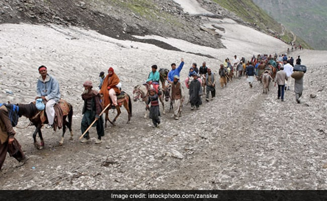 Registration For Amarnath Yatra Temporarily Suspended Due To Covid Crisis