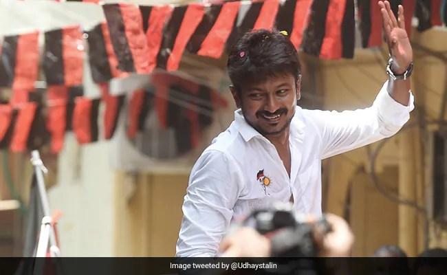 'Written My Exam': DMK Debutant Udhayanidhi Stalin Votes In Tamil Nadu
