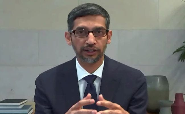 India Is Deeply Within Me, A Big Part Of Who I Am: Google Boss Sundar Pichai