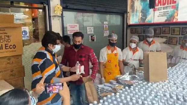 Salman Khan Sends Out Food Packets To Frontline Workers And Needy