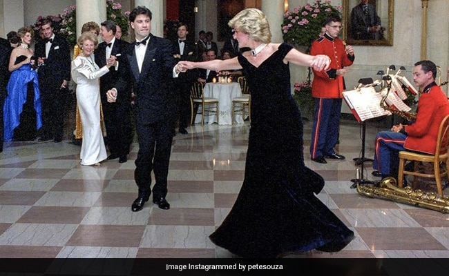 This Story Behind The Epic Princess Diana-John Travolta Dance From 1985