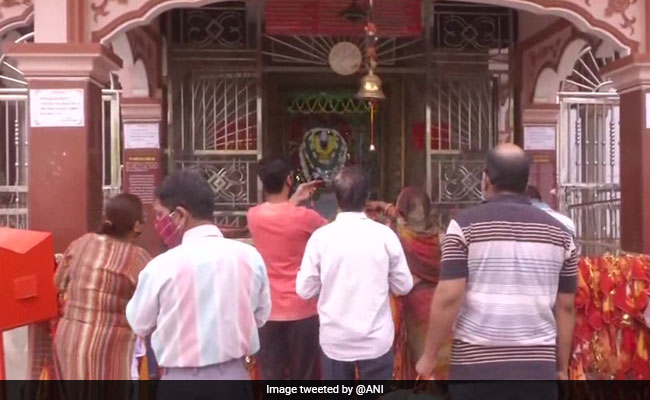 Ram Navami 2021: Devotees Pray At Ashtabhuja Mata Mandir In Varanasi