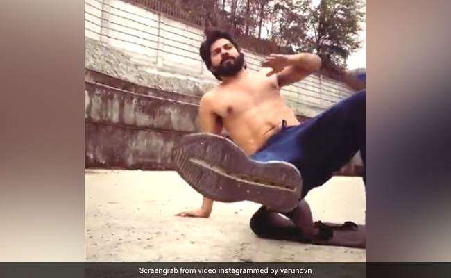 On A Scale Of 1 To Varun Dhawan, How Many Of These Flow Routines Can You Do?
