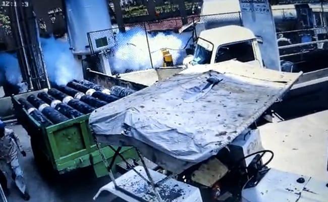 Caught On CCTV, Oxygen Leak At Maharashtra Hospital Where 24 Died