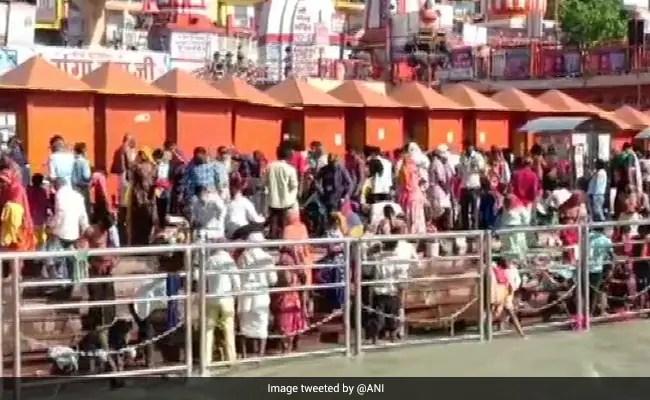 Curfew In Uttarkhand's Haridwar After Kumbh Mela's Final Shahi Snan