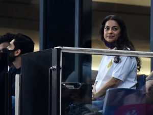 Juhi Chawla is confirmed with Kolkata Knight Riders after their fight against the Chennai Super Kings