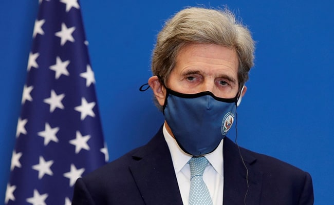 US Envoy John Kerry Starts Climate Talks In China