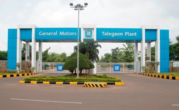 The production at GM's Talegaon plant was ceased on December 24, 2020.