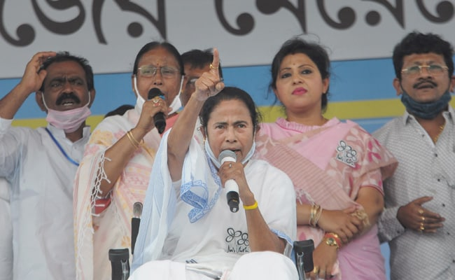 Trinamool Writes To Election Panel After BJP Leaks Mamata Banerjee Audio