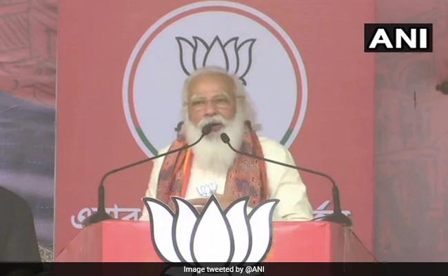 'Didi O Didi... Clean Bowled In Nandigram': PM Attacks Mamata Banerjee