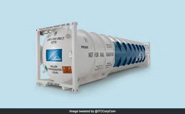आईटीसी को 24 ऑक्सीजन टैंकों का आयात करना पड़ता है क्योंकि भारत घातक कोविस संकट से जूझता है