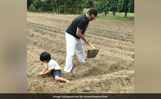 "Kareena Kapoor posts the image of ""favorite boys"" farming"