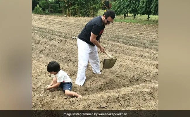 Earth Day 2021: Kareena Kapoor Posts Pic Of Her 'Favourite Boys' Farming