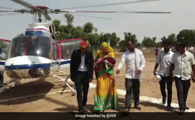 Rajasthan Man Hires Helicopter To Bring Home First Girl Child Born In 35 Years