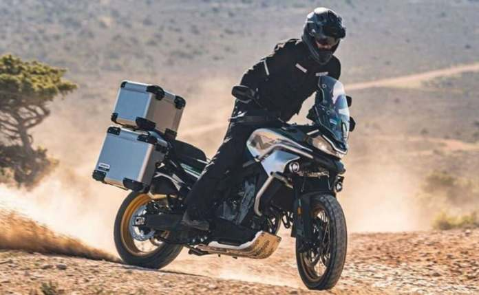The CFMoto 800MT is based on the KTM 790 Adventure