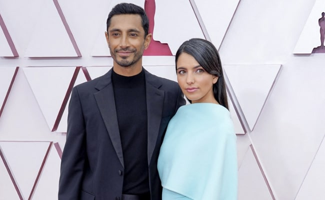 Oscars 2021: Riz Ahmed Wins The Red Carpet By Fixing Wife's Hair